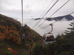 雲の上にでました。 さらに上にはまだ、雲がありますが、これから消えていくことに期待しましょう。