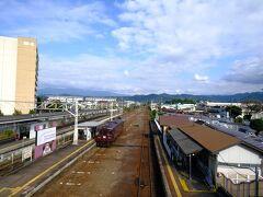 まずは東武で相老へ。 駅の券売機で一日フリーきっぷを購入し本旅スタート!  相老9:05発の間藤行に乗り込む。 秋晴れのいい天気に恵まれて良かった~。