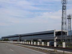 北陸新幹線が走る黒部宇奈月温泉駅を、車窓から眺めました。 11月後半の連休も訪れる予定になるとは、この時~つゆ知らず・・