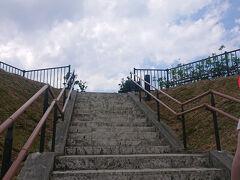 13:30 ちょっと迷いながら30分くらい走って瀬長島の展望台に着きました。