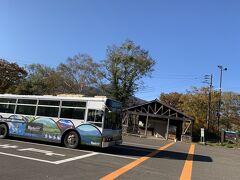 バスに揺られること50分ほどで笹ヶ峰の駐車場着。