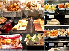ホテルストライプスクアラルンプール オートグラフ コレクション の朝食です。  マリオット系だけど朝食の種類は少なくて とにかく野菜がない(´-ω-`)