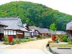 続いて大内宿へ! 冬の雪祭りには二回訪れたことがありますが、秋に来るのは初めて。  雪祭りのレポはこちら。(2年連続で訪れています。) https://4travel.jp/travelogue/11329381 https://4travel.jp/travelogue/11329856 https://4travel.jp/travelogue/11455639