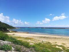 診療所前の海。 コトー先生がいつも見ていた海。 穏やか~…
