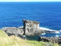 軍艦岩は、前に来た時こんな見やすい展望台はなかったと思う…。