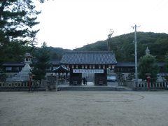 吉備津駅まで小走りに戻って、1時間後の列車で隣の備前一宮駅に移動。本日のラストは吉備津彦神社です。
