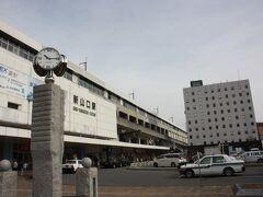 山口宇部空港からバスでまず新山口駅へ移動です。