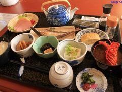 活魚民宿 豊 朝食もこのボリューム!夕食は情けないことに食べきれずに残してしまいましたが、朝は頑張って完食しました。