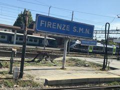 【Firenze Santa Maria Novella】駅に到着ですー。 トリノ からおよそ3時間15分といったところでしょうかー。あっという間だったので、3時間も乗っていた感じがしないですネー('ヮ' )