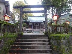 近くの熊野神社を参拝 健康と安寧を祈願して