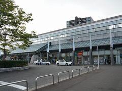 しまなみ海道を抜けて今治駅へ到着。