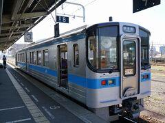 1時間ちょっとで松山駅に到着。