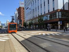 10分程度乗車し、大街道で降りました。 街の雰囲気が熊本に酷似しているように感じました。