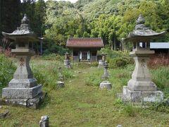 毛利家ゆかりの豊栄神社。