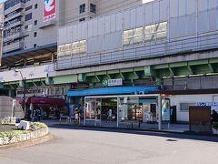 亀有駅に到着。