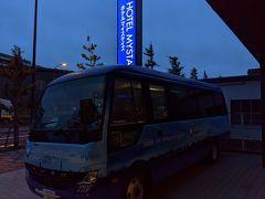 ◆旅行本編 ▽10月20日(火) 1日目 おはようございます。この日は羽田を7時に出発する飛行機なので、ホテルマイステイズ羽田に前泊しました。ホテル6時発の送迎車に乗ります。