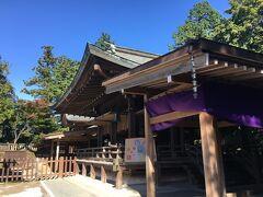 本丸跡に建つ唐沢山神社