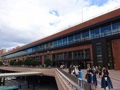 仙台駅の外に出ました。 仙台駅西口です。