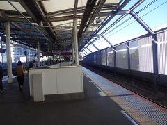 武蔵小杉駅で 相鉄線直通電車に乗り換えます。