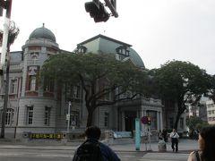 湯徳章紀念公園のロータリーを取り囲むように、いくつかの歴史的建造物が所在しています。 現在、国立台湾文学館となっている日本統治時代の台南州庁舎(1916年竣工)