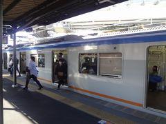 西谷駅で 乗り換えです。