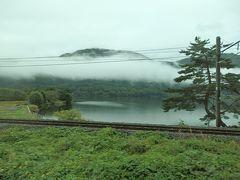 ここから仁科三湖が見えてきました。