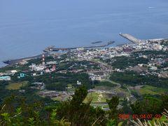 麓には元町港が見えました。