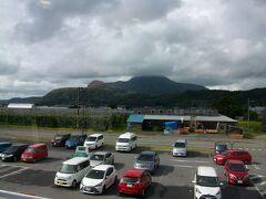 道の駅そうべつ情報館から見る昭和新山
