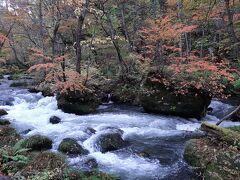 石ヶ戸の瀬。  流れが速く水しぶきが飛び交う場所は、撮影スポットになっていました。