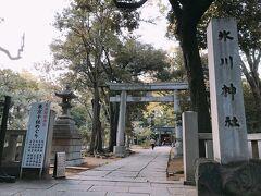 続いて赤坂氷川神社へ
