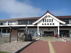 初日 2020/10/20(火)快晴 8:29 いつもながら一番早くに乗れる新幹線で郡山駅着。 9:40 そこから磐越西線で会津若松駅着。