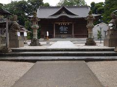 松江神社の神殿?かな 小さいながらも雰囲気が良かったあ~   それにしてもここも貸切りだよ~
