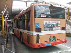 さらにフラワータウン駅から神姫バス三田駅行に乗り換えて、JR三田駅へ到着。 たまたま電車より接続の良いバスがあった。