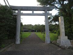 宮之浦集落のはずれにある益救(やく)神社。