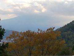 直接宿に行く予定でしたが都留で右折を左折しつ河口湖へ。 あれ富士山見にきたのに(笑)