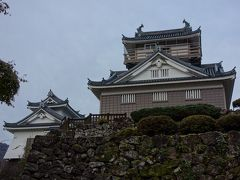越前大野城は、越前一向一揆鎮圧の功で、織田信長により、越前大野に領地を与えられた金森長近により、標高249Mの亀山に築城されました。