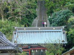 安房國一之宮 洲崎神社 階段は148段あるらしい。