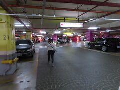 漢神巨蛋の駐車場