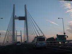 横浜ベイブリッジ走行