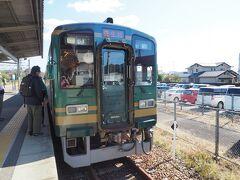 信楽高原鐵道に乗車して貴生川駅へと戻ってきました。