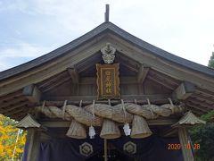 白兎神社に参拝しました