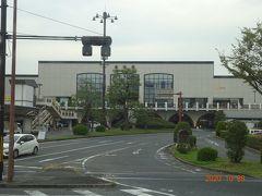 JR倉敷駅前を通過します
