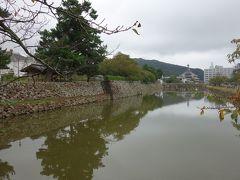 鳥取城のお堀