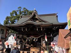 最後の立ち寄りポイント・溝口神社。