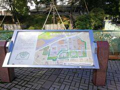 高崎城址公園に来ました。2回目なので遺構はほとんど残っていないことはわかっています。