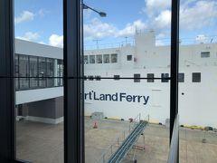 14時過ぎに、稚内行きのハートランドフェリーに乗船。