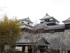 松山城入口。 ここでチケットを購入します。