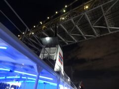 18:48 レインボーブリッジとファンネル。 お決まりのショットでカシャ。