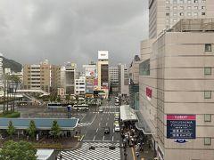 徳島2日目 雨です(=_=) でもお昼前には晴れマークになっているので晴れになることを信じて!