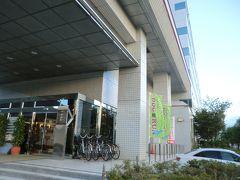「勝山ニューホテル」:入り口付近